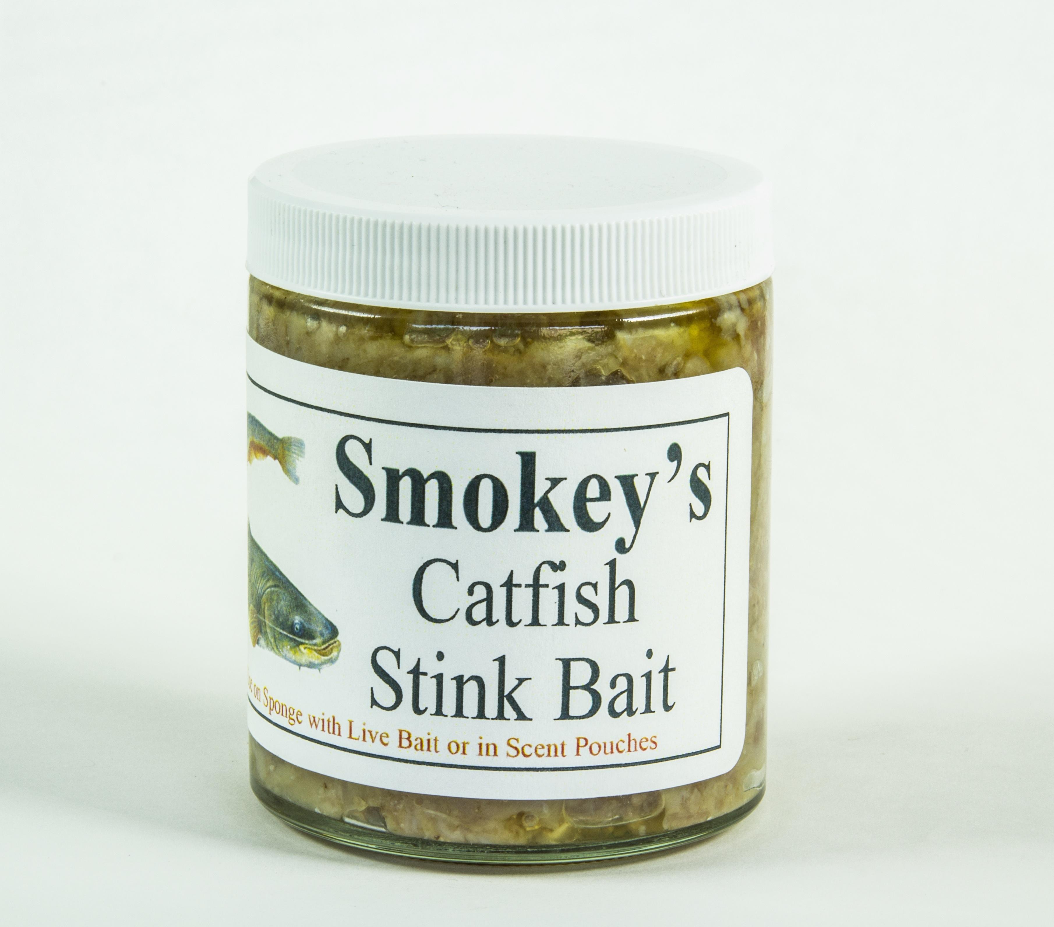 Smokey s catfish stink bait smokey 39 s deer lures for Cat fish bait