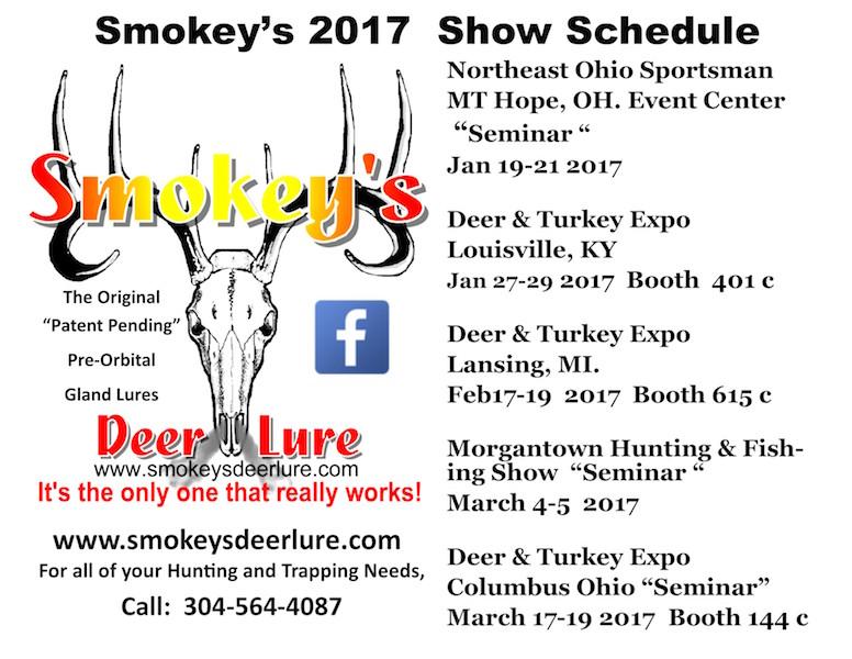 smokeys-2017-show-schedule